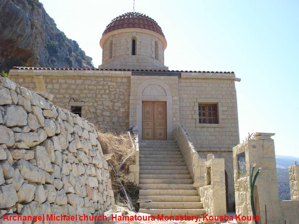 Archangel Michael church, Hamatoura Monastery, Kousba Koura