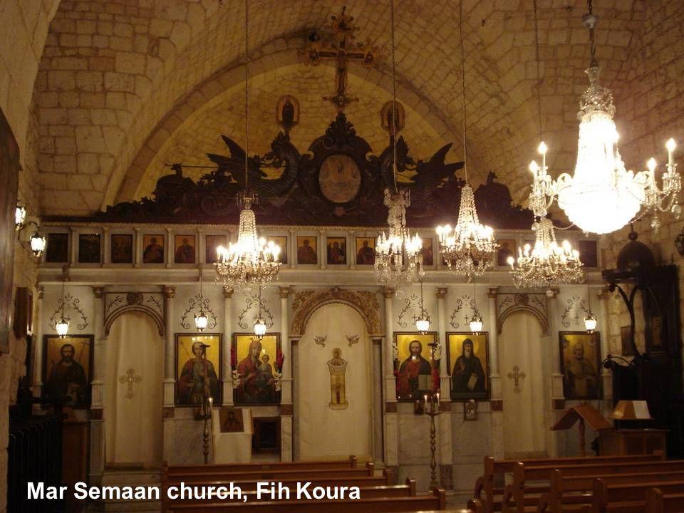 Mar Semaan church, Fih Koura