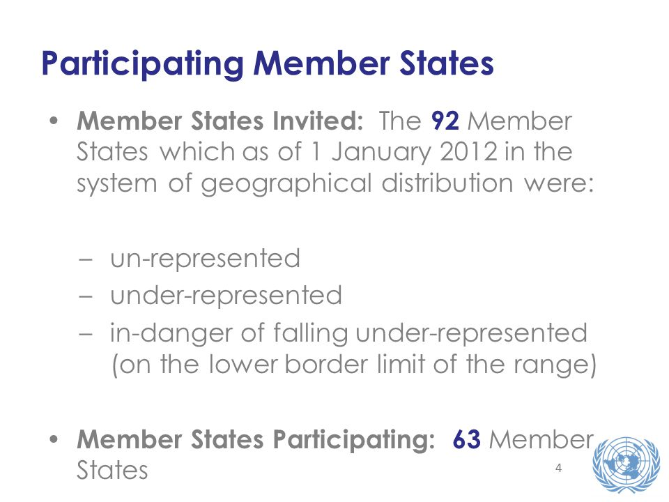 55 Application via Careers Portal and Inspira Detailed information: application process; sample exams; exam centres; exam status and updates; FAQs Global Outreach UN Secretariat