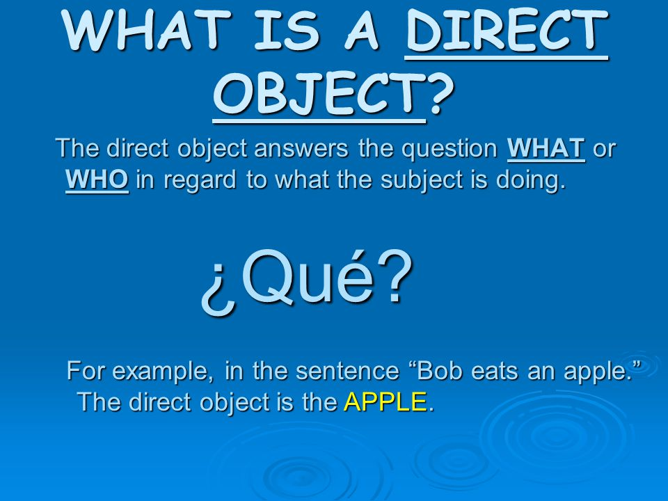 Let's do some more…You find the INDIRECT OBJECT  I give a lecture to the kids.
