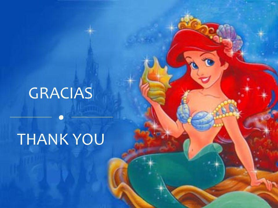 . THANK YOU GRACIAS