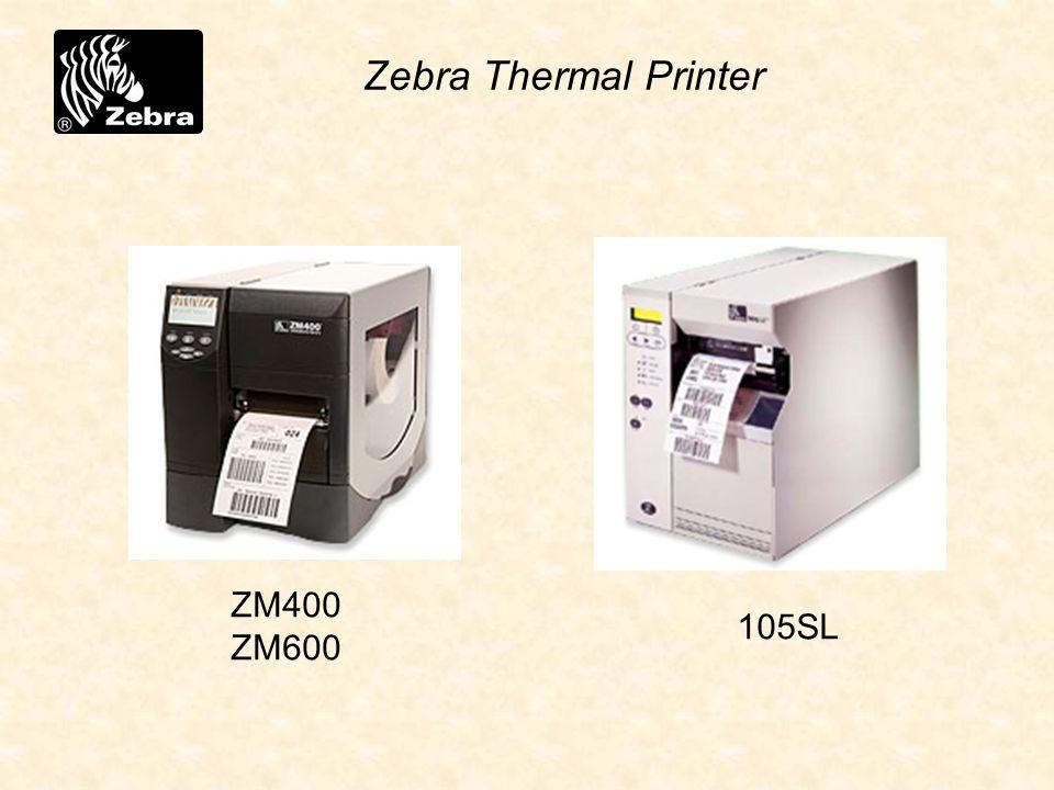105SL Zebra Thermal Printer ZM400 ZM600
