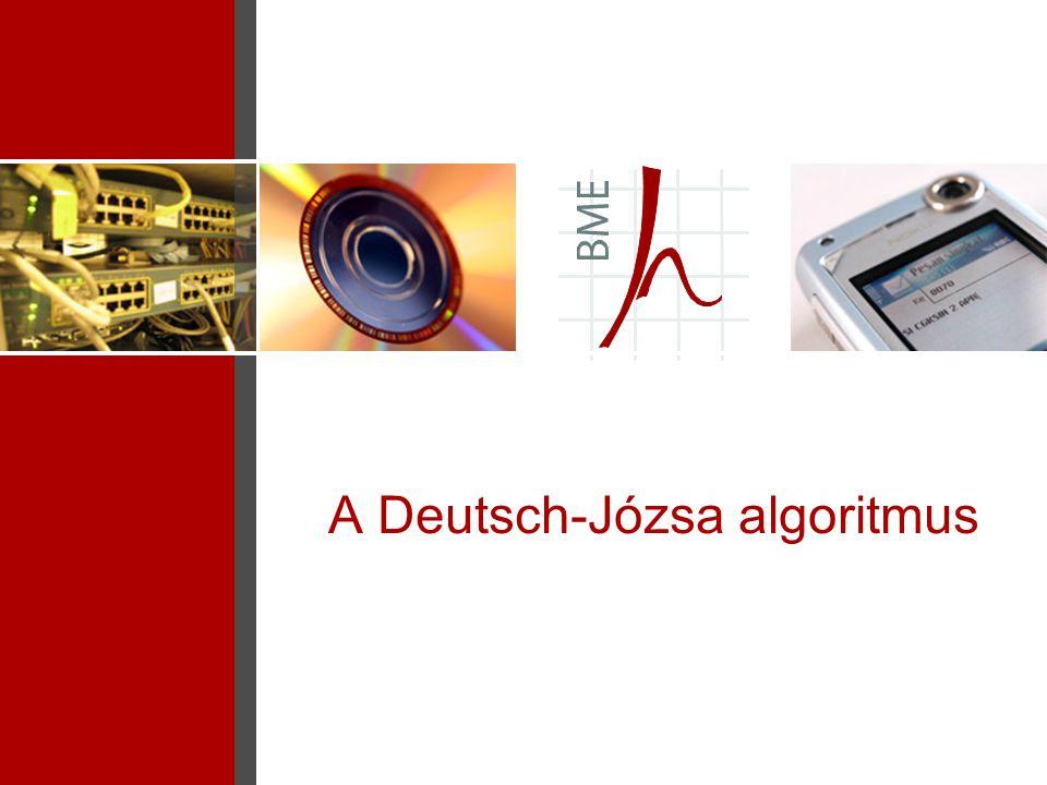 A Deutsch-Józsa algoritmus