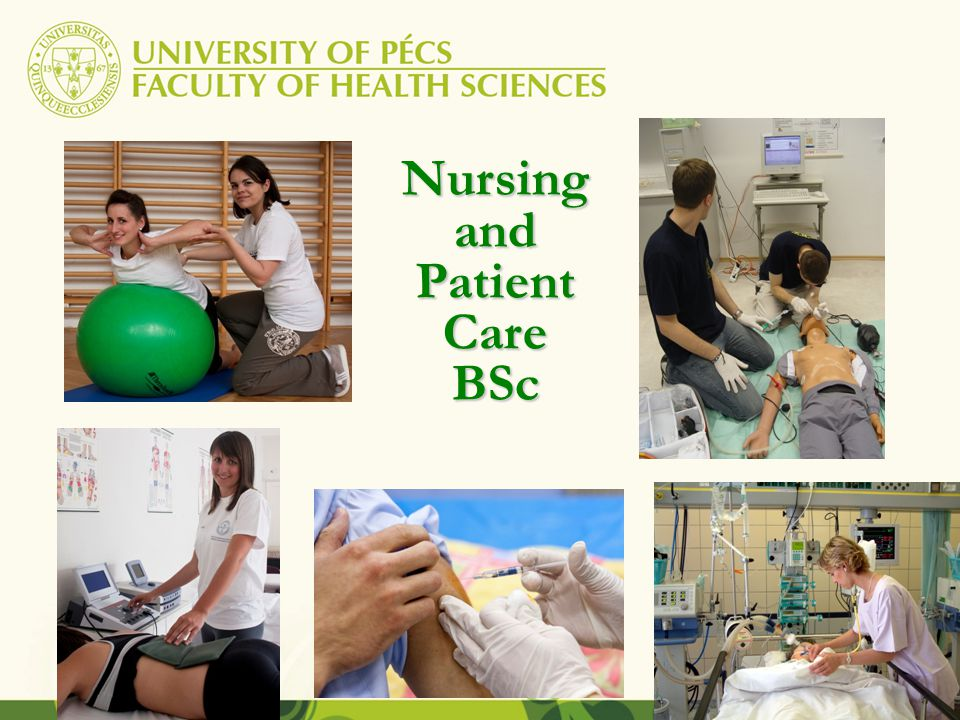 Nursing and Patient Care BSc