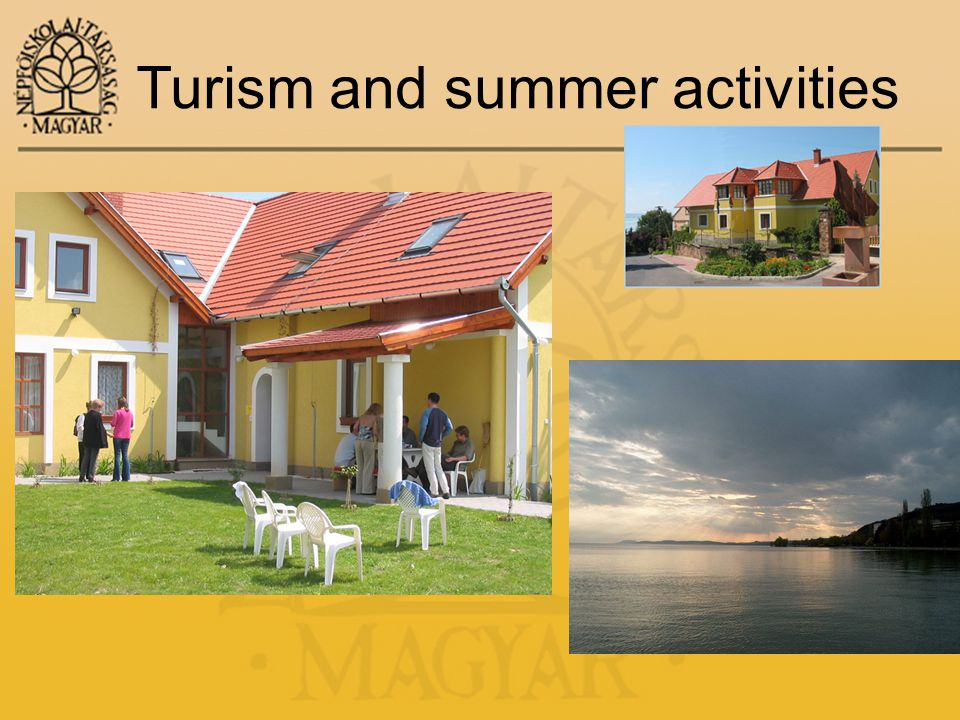 Turism and summer activities