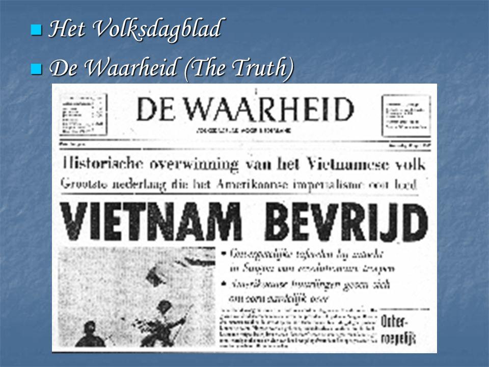 Het Volksdagblad Het Volksdagblad De Waarheid (The Truth) De Waarheid (The Truth)