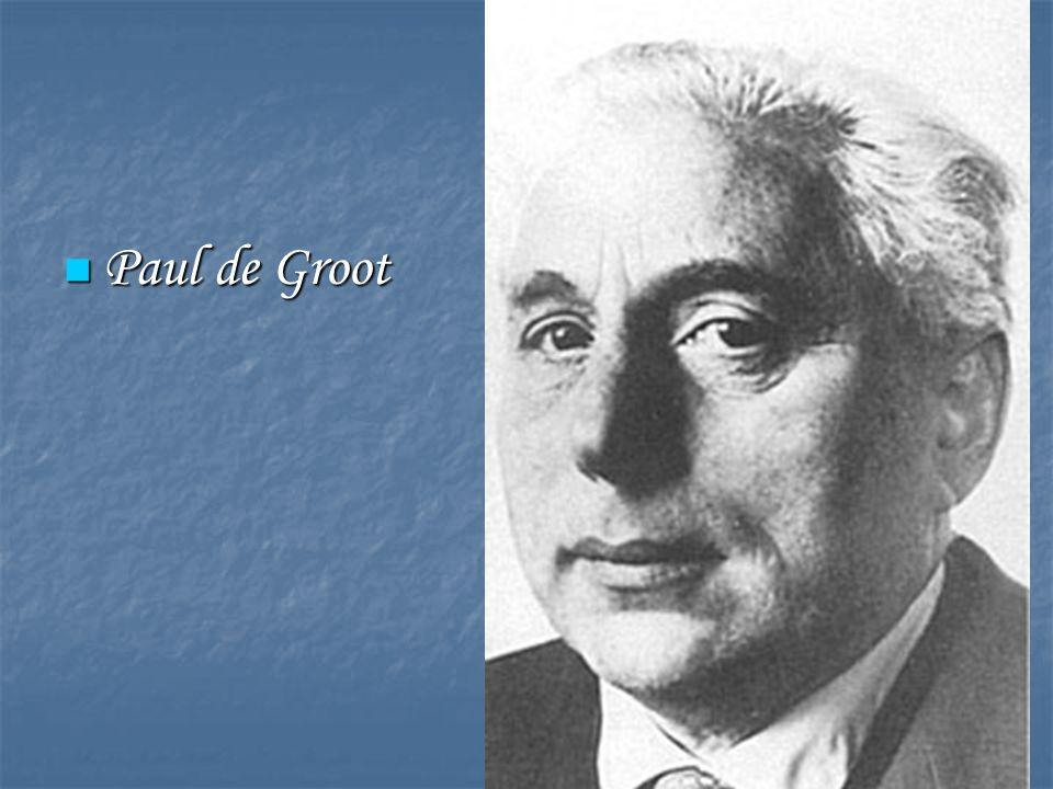 Paul de Groot Paul de Groot