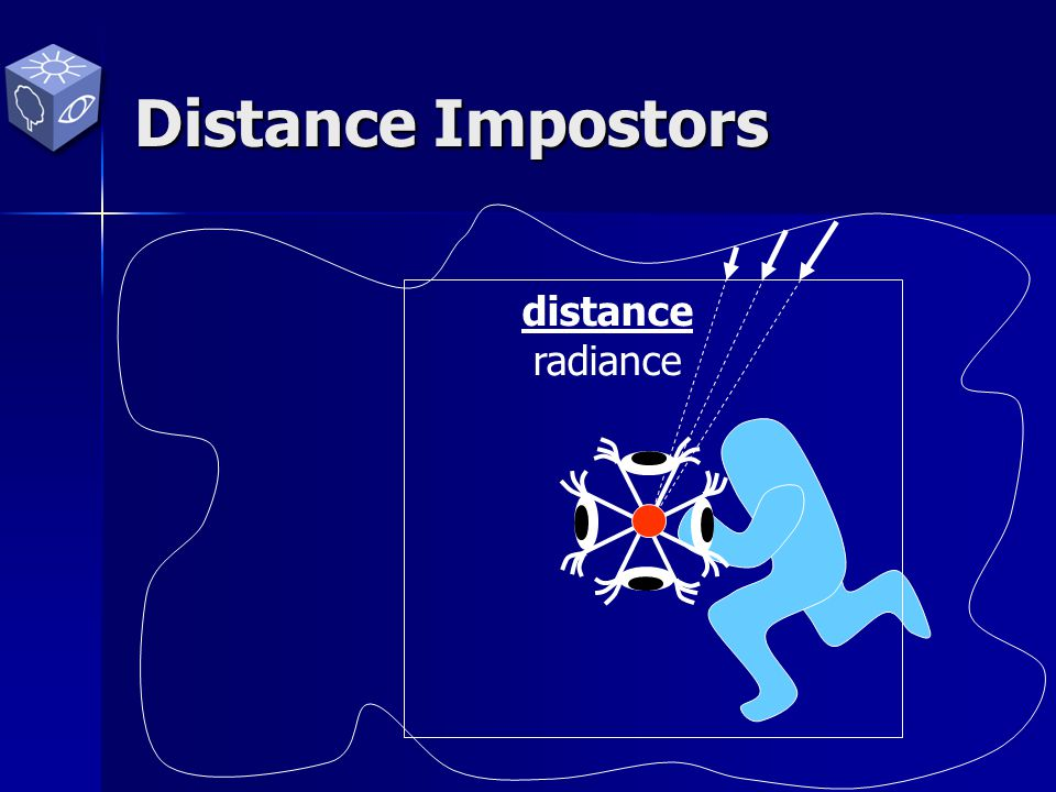 Ray-Tracing with Distance Impostors