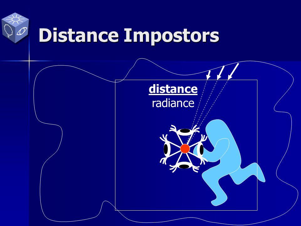 distance radiance Distance Impostors