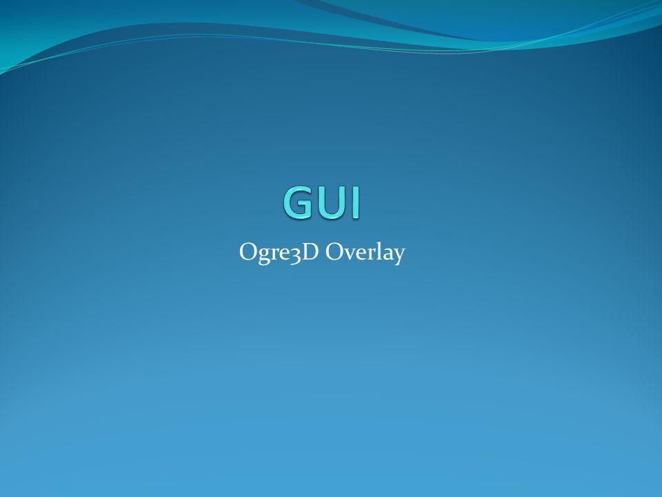 Ogre3D Overlay