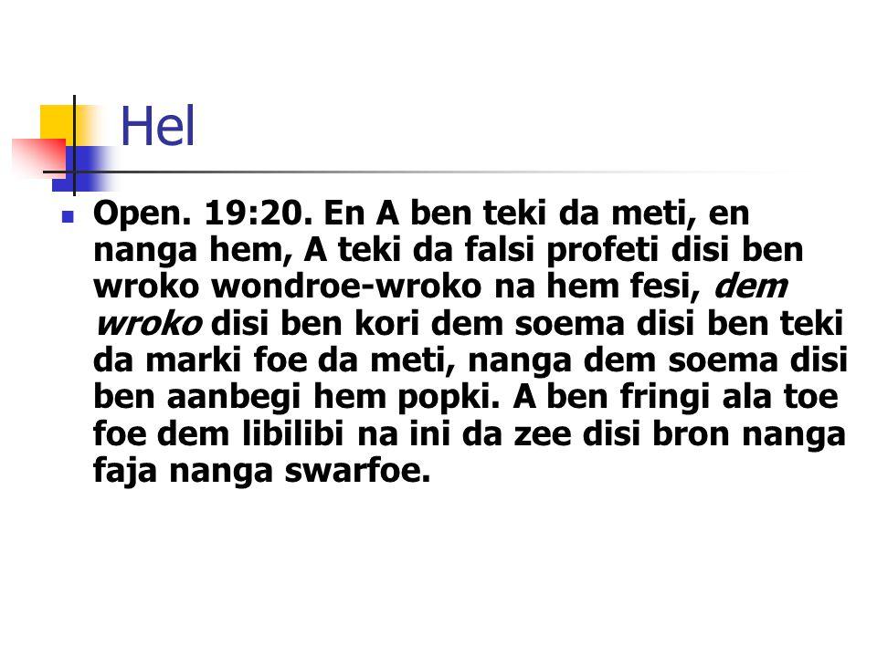 Hel Open. 19:20.