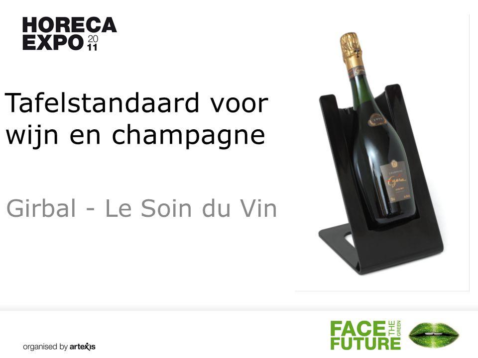 Tafelstandaard voor wijn en champagne Girbal - Le Soin du Vin