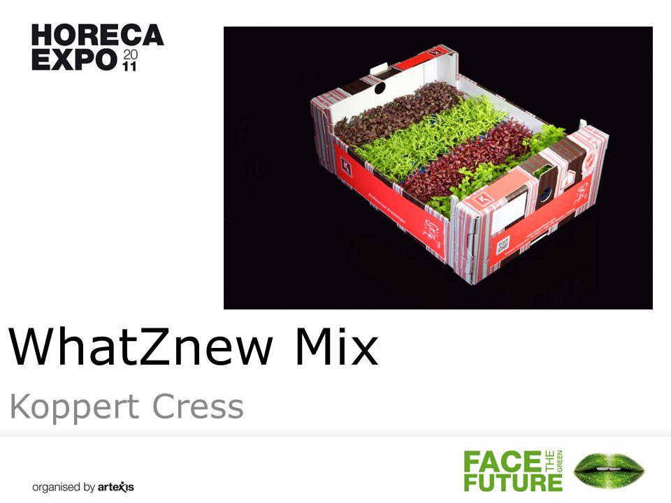 WhatZnew Mix Koppert Cress