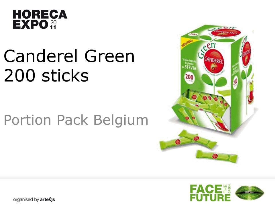 Canderel Green 200 sticks Portion Pack Belgium