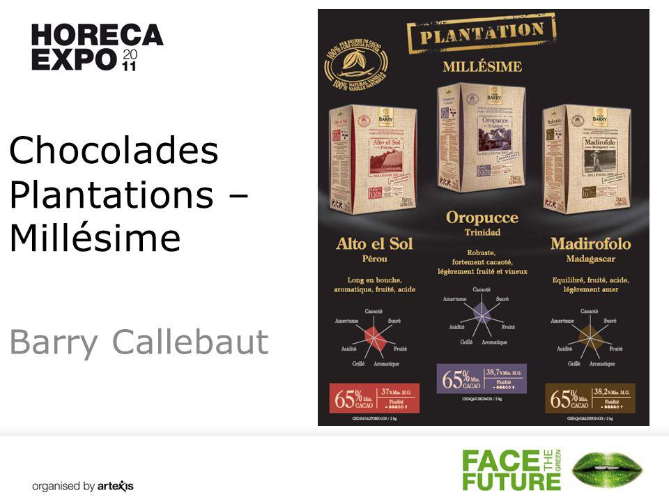 Chocolades Plantations – Millésime Barry Callebaut