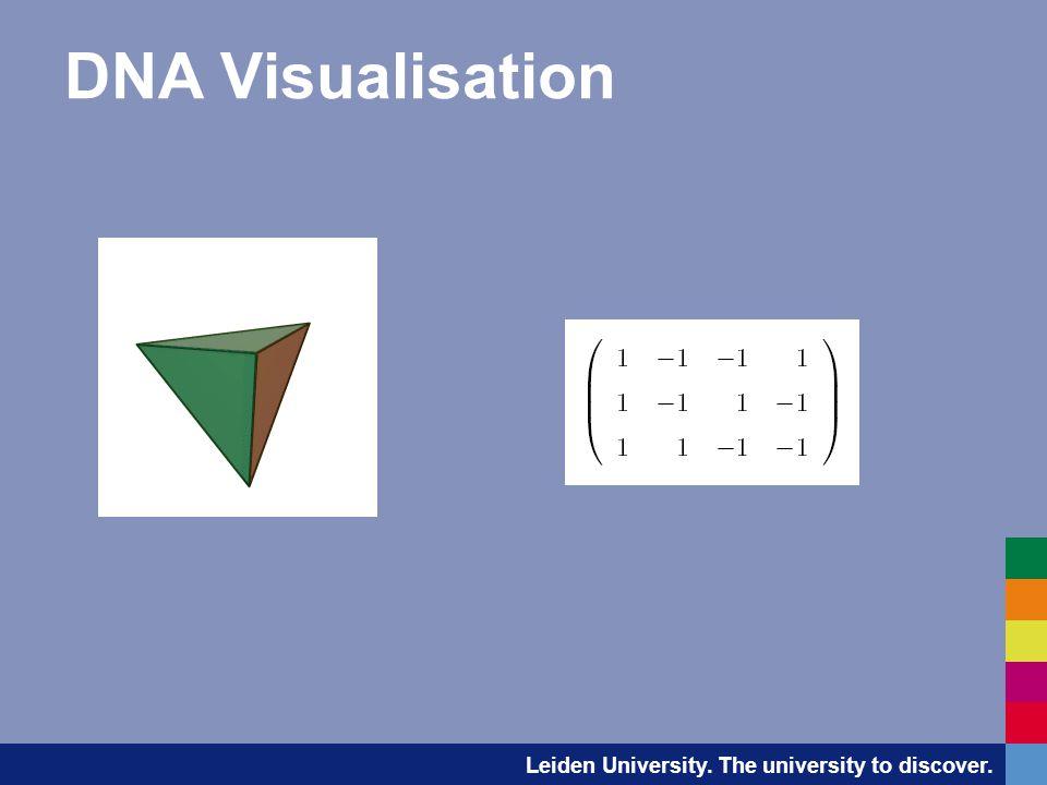 Leiden University. The university to discover. DNA Visualisation