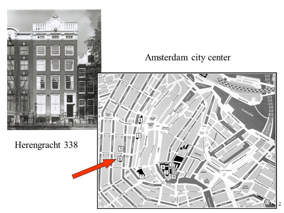 2 Herengracht 338 Amsterdam city center