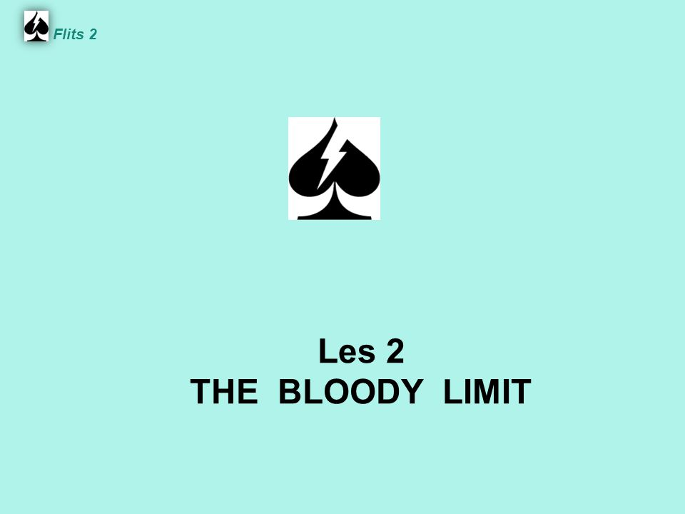 Les 2 THE BLOODY LIMIT Flits 2