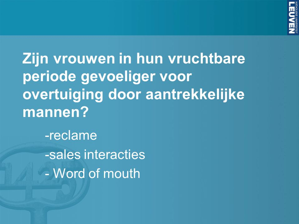 -reclame -sales interacties - Word of mouth