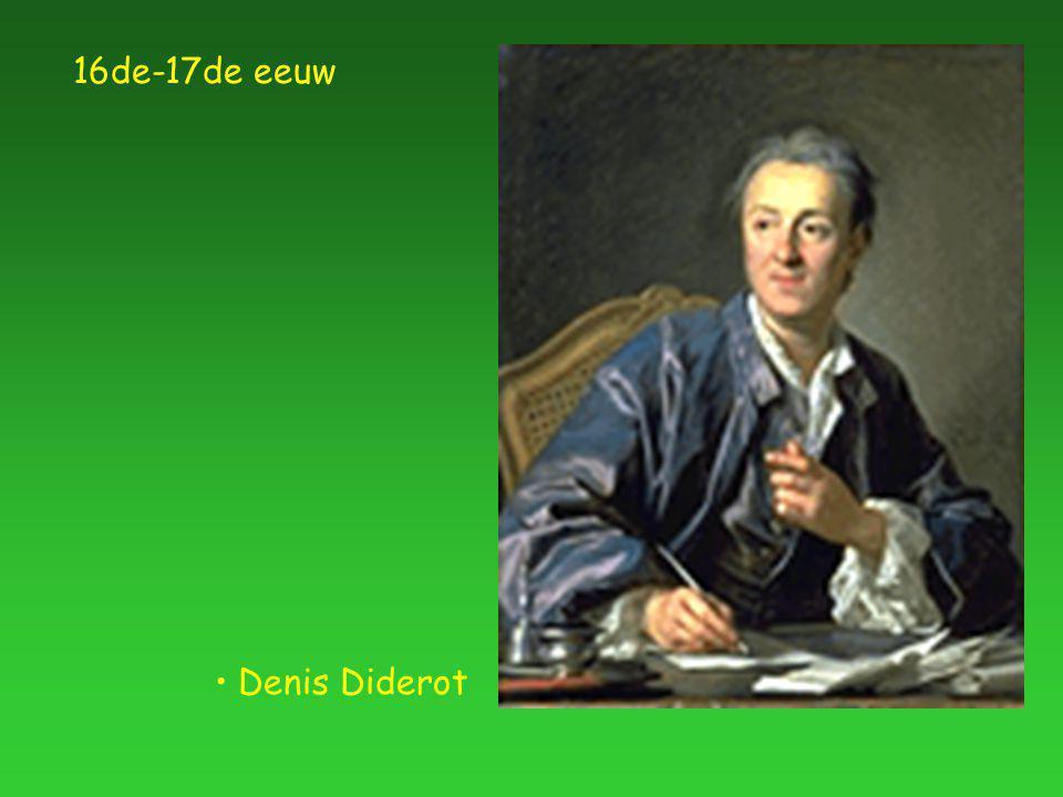 Denis Diderot 16de-17de eeuw