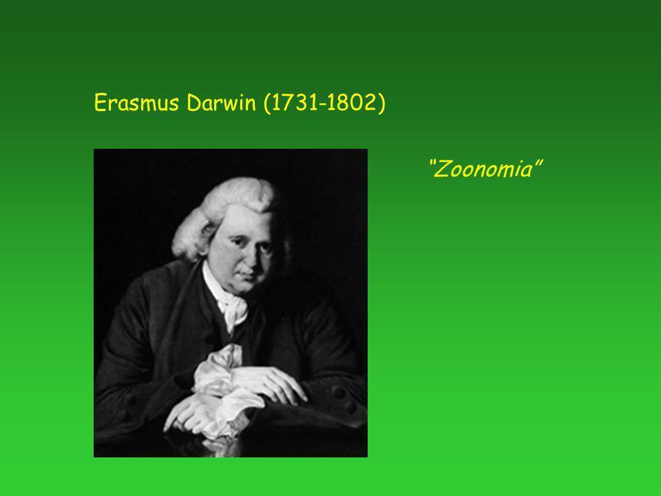 Erasmus Darwin (1731-1802) Zoonomia
