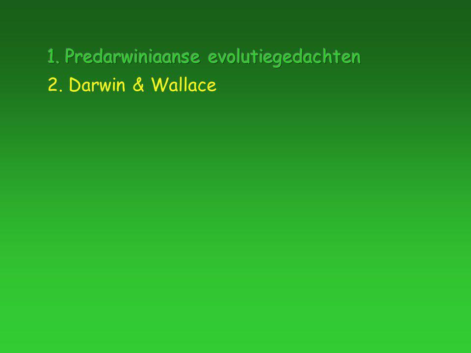 2. Darwin & Wallace