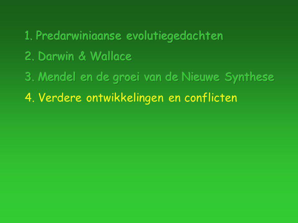 4. Verdere ontwikkelingen en conflicten