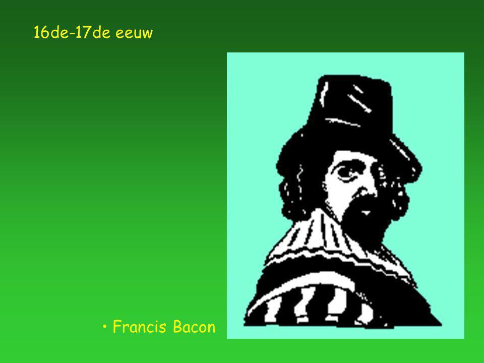 Francis Bacon 16de-17de eeuw