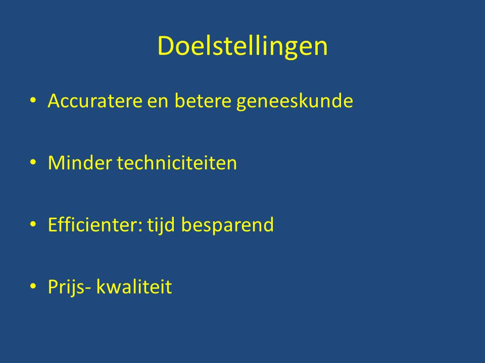 Klinische evaluatie Anamnese : listen to the patient he will tell you the diagnosis Inspektie: l ook to the patient you will see the diagnosis Palpatie en Percussie: feel and find the diagnosis Auscultatie: listen and hear the diagnosis