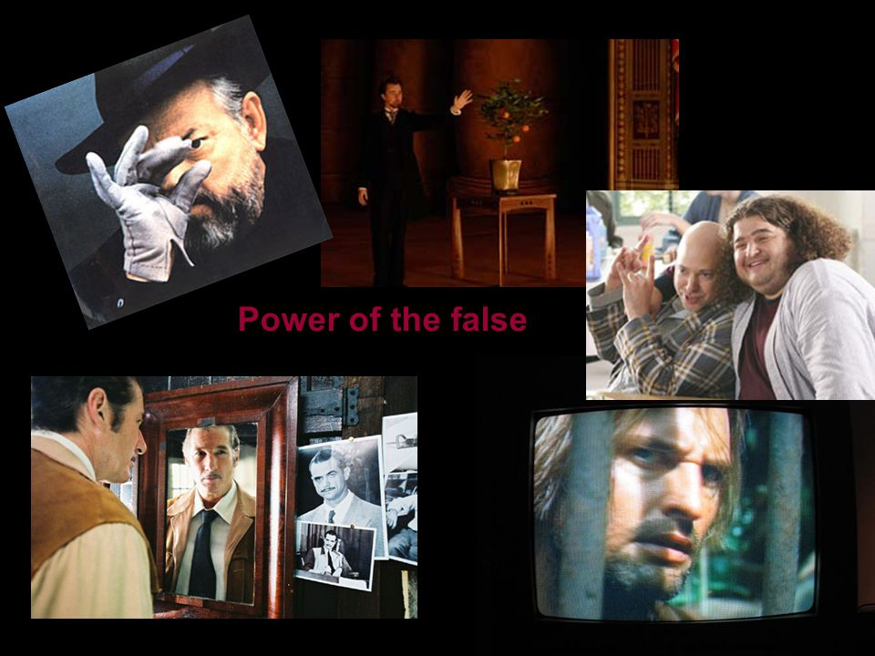 Power of the false