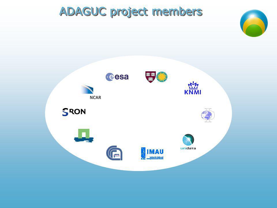 ADAGUC project members