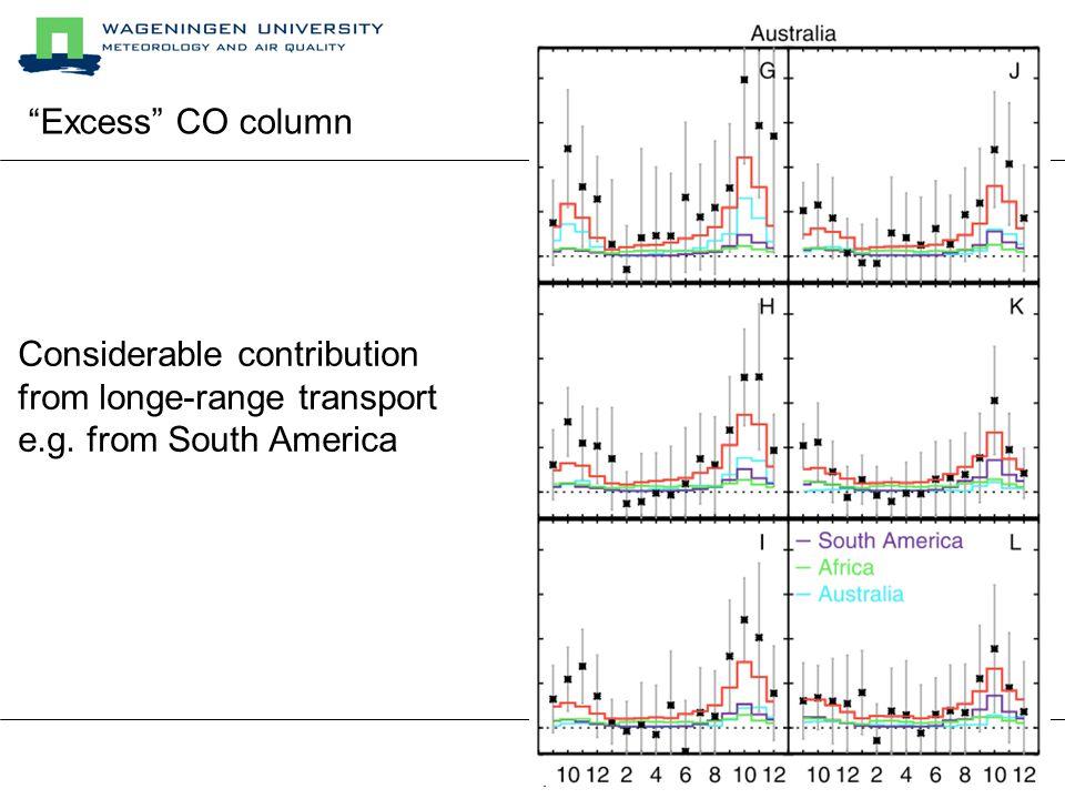 de Laat et al., JGR, 2007 Improved Biomass Burning estimates