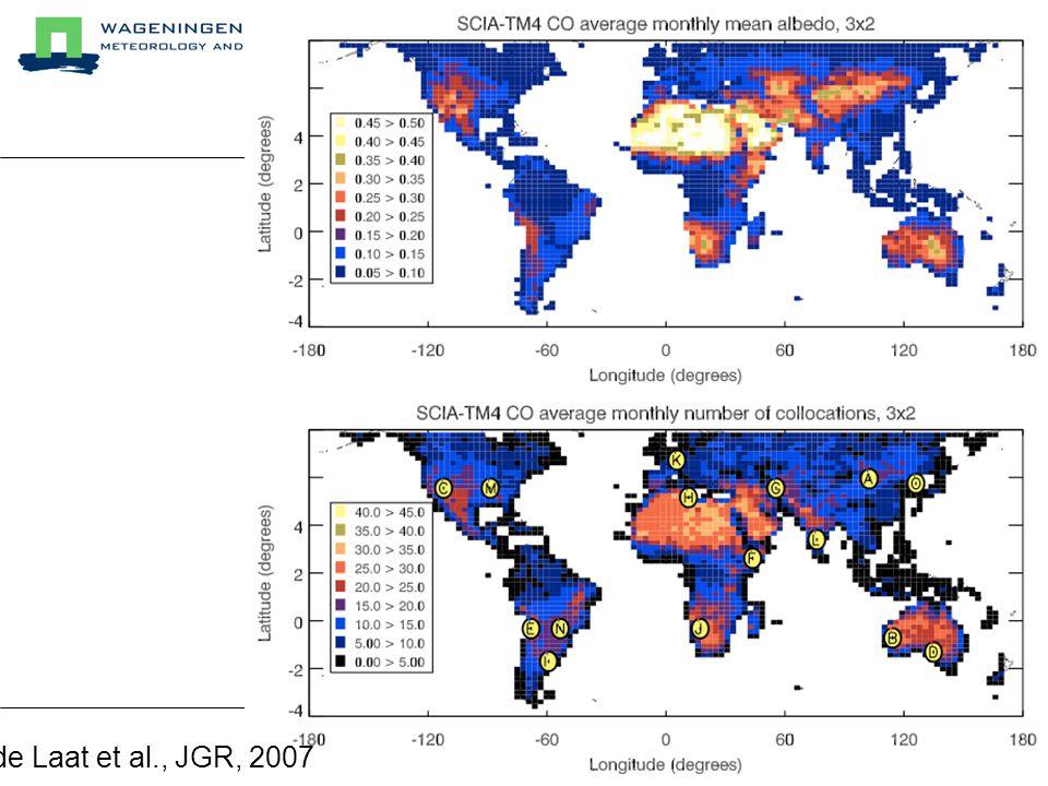 de Laat et al., JGR, 2007