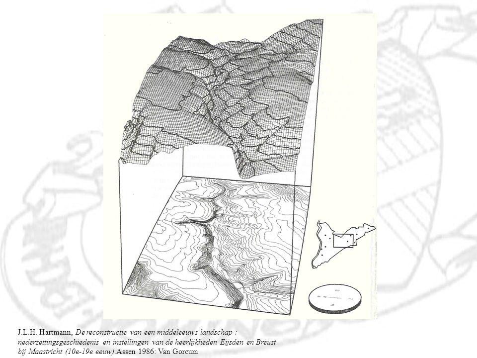 J.L.H. Hartmann, De reconstructie van een middeleeuws landschap : nederzettingsgeschiedenis en instellingen van de heerlijkheden Eijsden en Breust bij