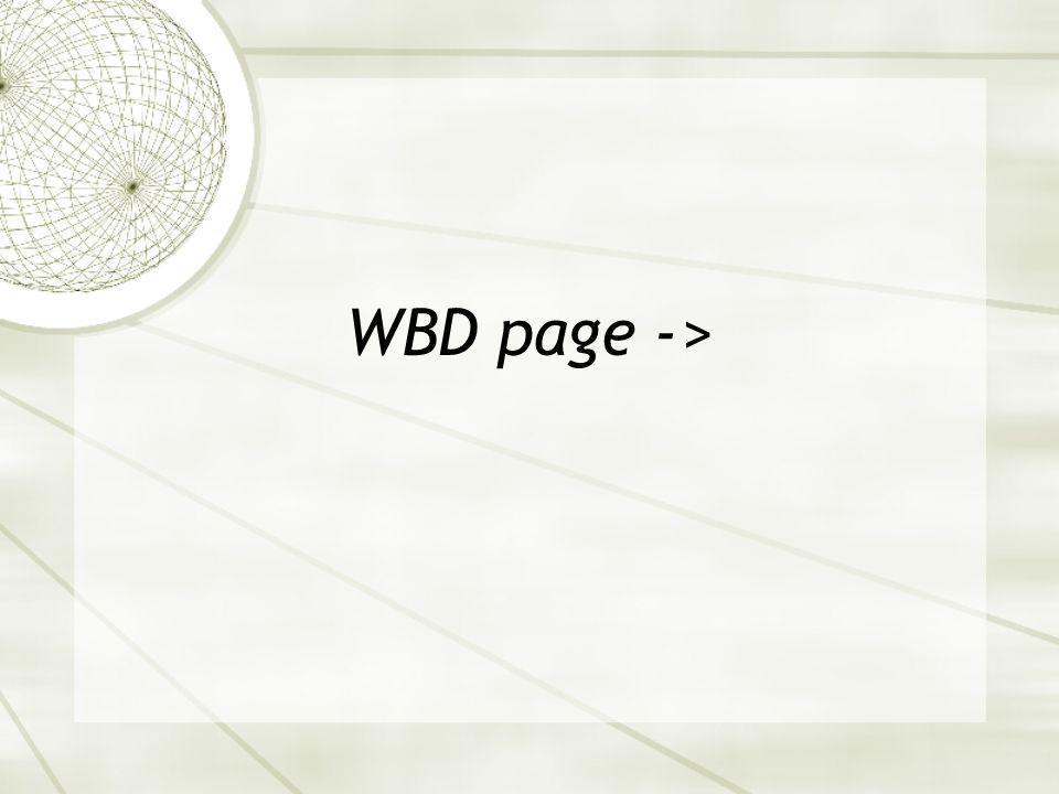 WBD page ->