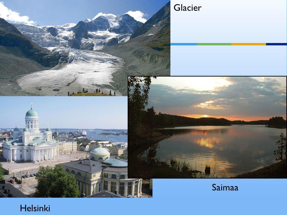 Glacier Helsinki Saimaa