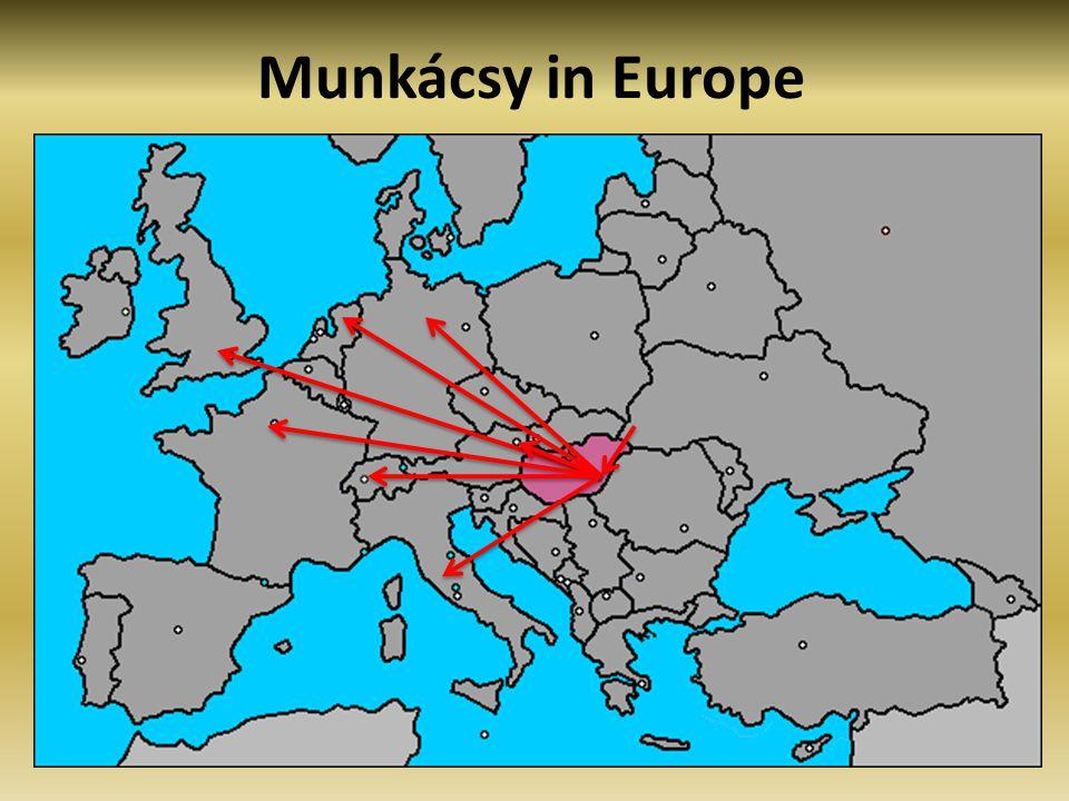 Munkácsy Award The Munkácsy Award, established in 1950.
