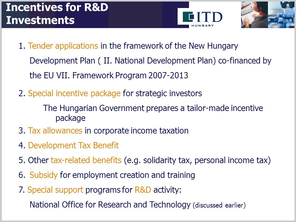 1. Tender applications in the framework of the New Hungary Development Plan ( II.
