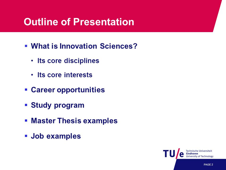 PAGE 2  What is Innovation Sciences.