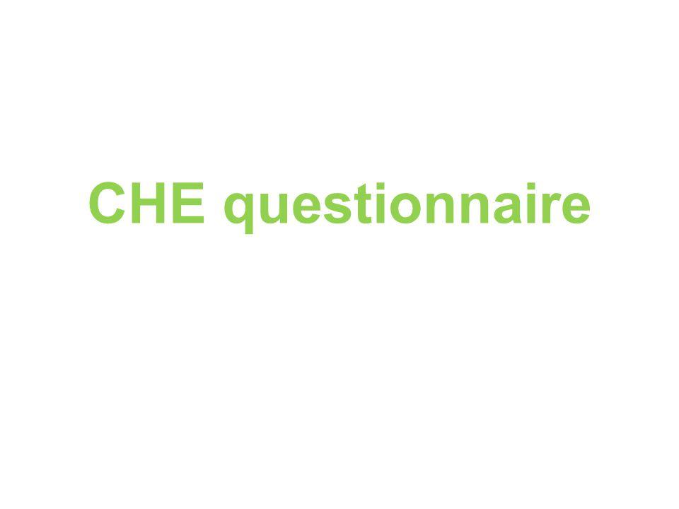 CHE questionnaire