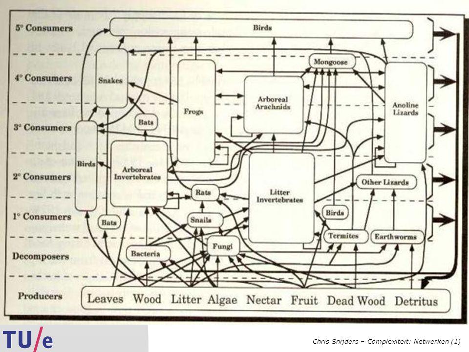 Chris Snijders – Complexiteit: Netwerken (1)