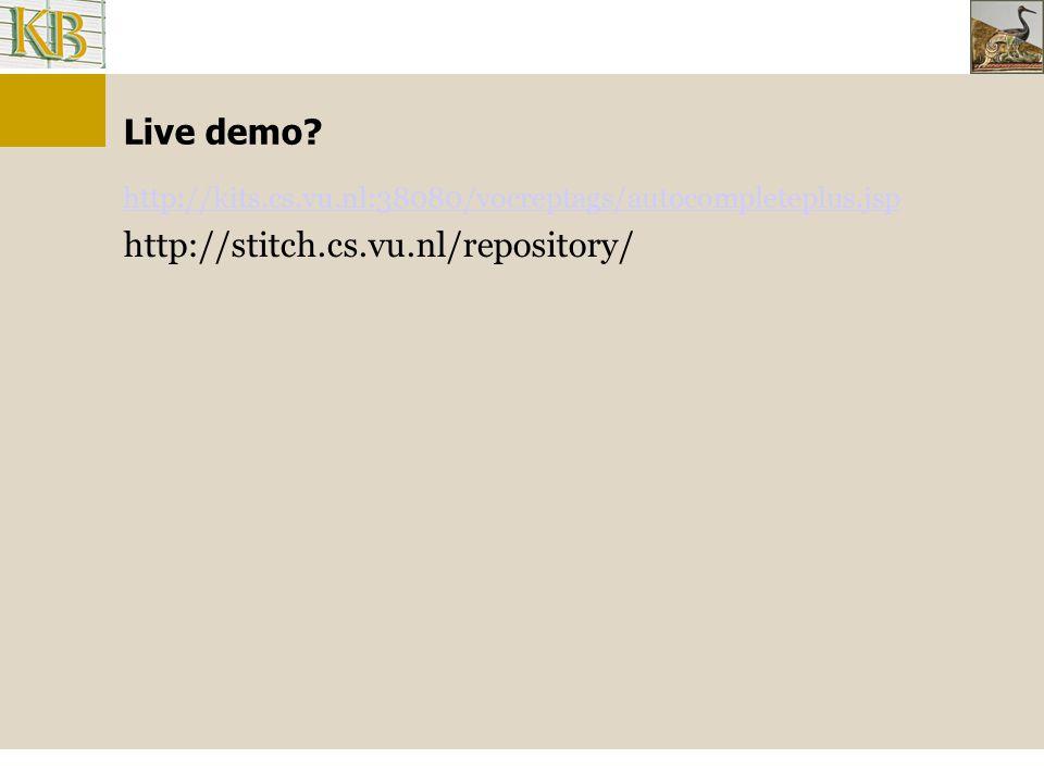 Live demo.