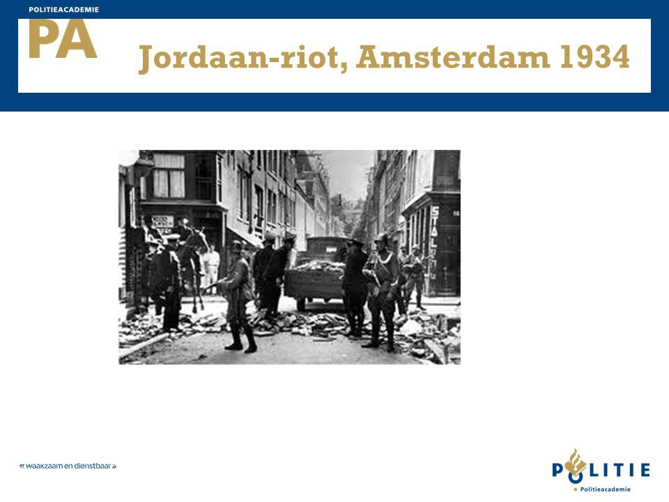 Jordaan-riot, Amsterdam 1934