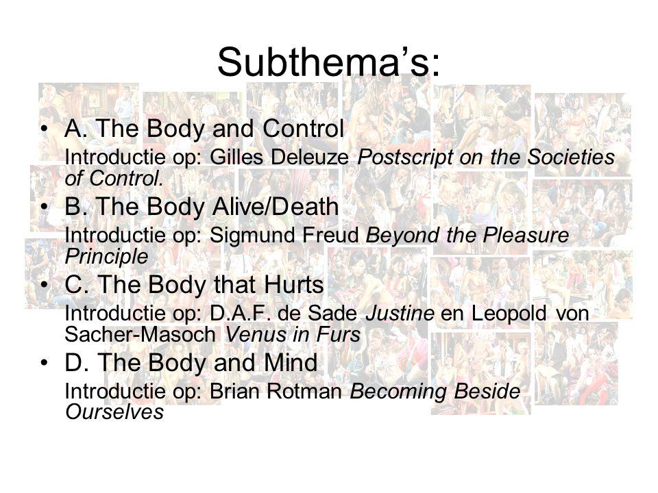 Subthema's: A.
