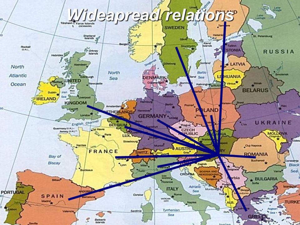 Wideapread relations