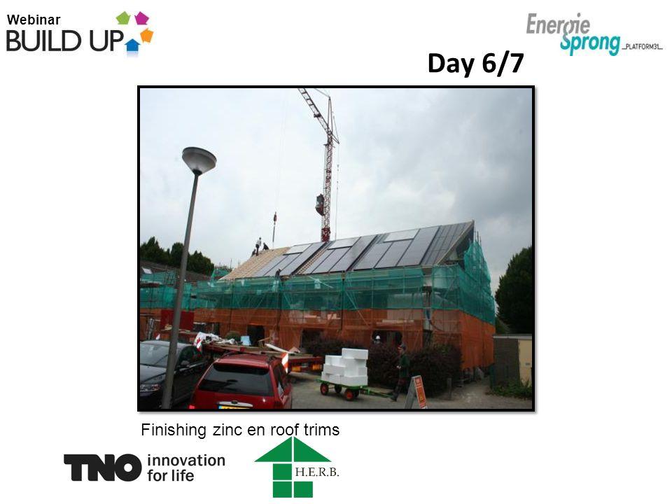 Webinar Day 6/7 Finishing zinc en roof trims