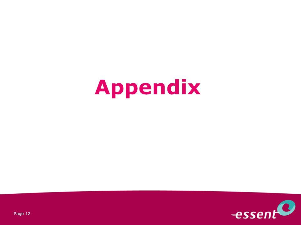 Page 12 Appendix