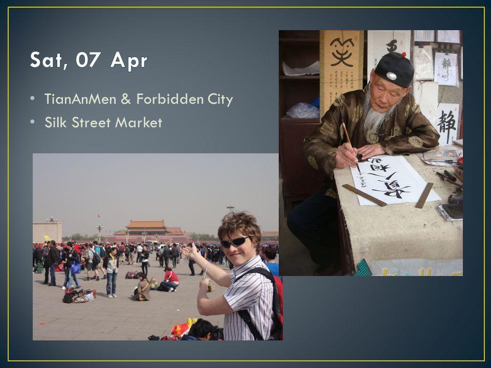 TianAnMen & Forbidden City Silk Street Market