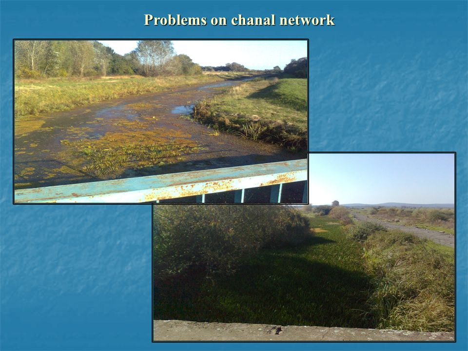 Problems on chanal network
