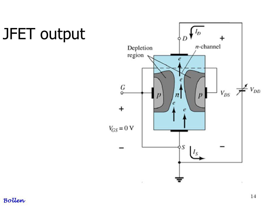 14 JFET output Bollen
